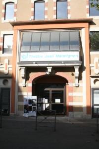 entrée du théâtre Jean Marmignon à Saint-Gaudens