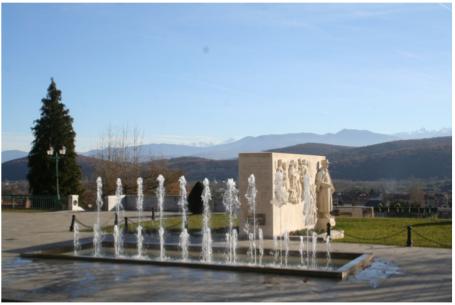 Photographie Esplanade de la Légion d'Honneur Monument des trois Maréchaux
