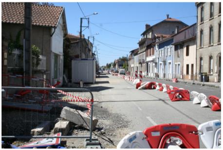 Photographie Travaux Avenue Joffre