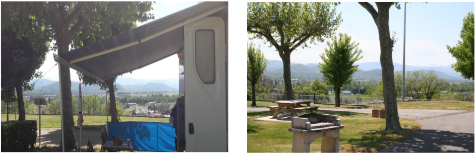 photographies : aire de camping-cars