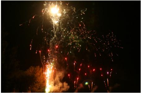 photographie feu d'artifice
