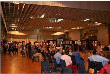photographie : Forum des associations au Parc des Expositions