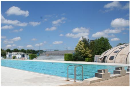 photographie piscine d'été