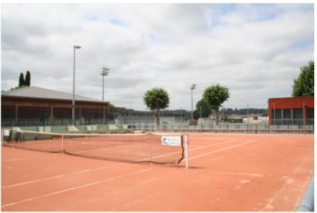 photographie court de tennis