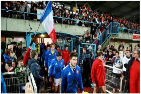 photographie : Tournoi des VI Nations des moins de 20 ans en 2015 France - Pays de Galles