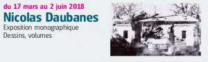 du 17 mars au 2 juin 2018 Nicolas Daubanes Exposition monographique Dessins, volumes Plus d'infos sur : www.lachapelle-saint-jacques.com facebook : Chapelle Saint-Jacques avenue du maréchal Foch 31800 Saint-Gaudens - Tél. 05.62.00.15.93 chapelle-st-jacques@wanadoo.fr ateliers hebdomadaires ou ponctuels pour exprimer les sensibilités mul- tiples - contenu en fonction de l'actualité artistique au centre d'art. VISITER LES EXPOSITIONS La visite des expositions est libre et gratuite. Groupes sur réservation SCOLAIRES et LOISIRS de la maternelle au lycée sur réservation visites en Espagnol Site accessible aux personnes handicapées ou à mobilité réduite visites adaptées au public Déficient Visuel sur réservation