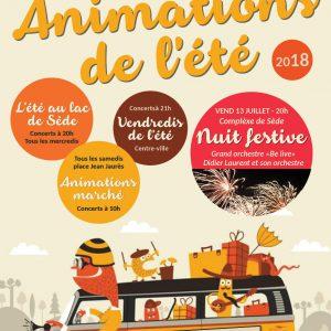 Animations de l'été
