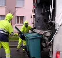Report des collectes d'ordures ménagères