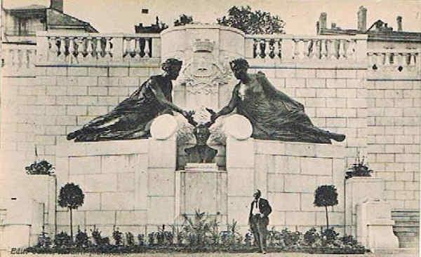 Mémorial Augustus Saint-Gaudens dans les année 40