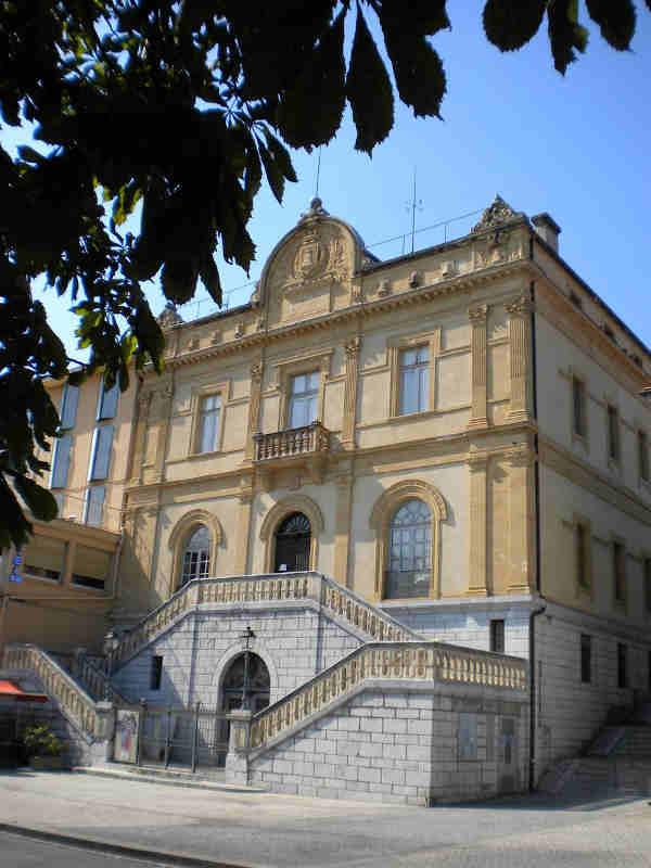 Photographie de la façade Sud du musée