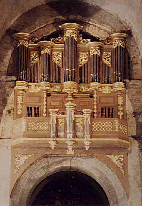 Photographie de l'Orgue