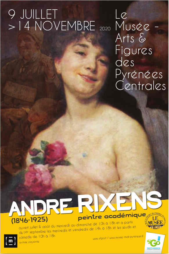 Exposition ANDRE RIXENS