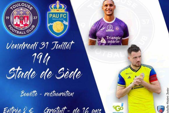 Match TFC – Pau FC