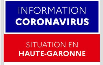 CORONAVIRUS – Le point en Haute-Garonne