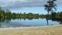 Photographie du lac de Sède
